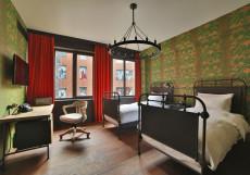 Rooms Hotel Tbilisi - Румс Отель | Тбилиси | Центр | С завтраком Двухместный с  видом на сад (2 отдельные кровати)