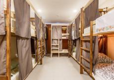 Рус-Анино | м.  Аннино | Парковка Спальное место на двухъярусной кровати в общем номере для мужчин