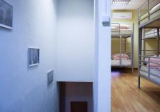 Московские Друзья | Moscow Friends | м. Баррикадная | Парковка Кровать в общем 6-местном номере для мужчин и женщин