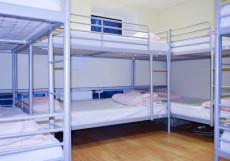Московские Друзья | Moscow Friends | м. Баррикадная | Парковка Кровать в общем 8-местном номере для мужчин и женщин