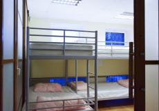 Московские Друзья | Moscow Friends | м. Баррикадная | Парковка Кровать в общем 10-местном номере для мужчин и женщин
