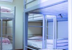Московские Друзья | Moscow Friends | м. Баррикадная | Парковка Односпальная кровать в общем номере для мужчин и женщин