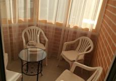 Елена | Красногорск | Парковка Двухместный номер Делюкс с 1 кроватью и боковым видом на море