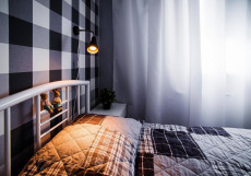 Три зайца | г. Мурманск | Парковка Двухместный номер с 1 кроватью или 2 отдельными кроватями и общей ванной комнатой