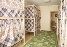 Рус Кузьминки | м. Кузьминки | Парковка Спальное место на двухъярусной кровати в общем номере для мужчин и женщин