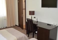 Панорама | г. Тверь | Парковка Улучшенный двухместный номер с 1 кроватью или 2 отдельными кроватями
