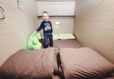 Капсульный отель 47 Небо | м. Деволой Центр | Wi-Fi Бюджетный двухместный номер с 1 кроватью