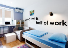 Квартира 31 | Белгород | Парковка Двухместный номер с 2 отдельными кроватями и общей ванной комнатой