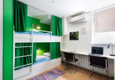 Квартира 31 | Белгород | Парковка Кровать в общем 4-местном номере для мужчин или для женщин