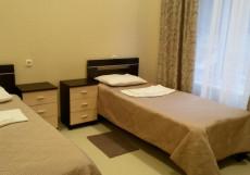 Альпика | Эсто-садок | WI-Fi Двухместный номер с 2 отдельными кроватями и балконом