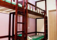Вежливый лось (Общежитие) Место на двухъярусной кровати в общем 8-местном номере для мужчин