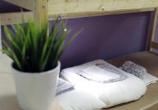 Плед | м. Павелецкая | Парковка Кровать в общем 6-местном номере для мужчин и женщин