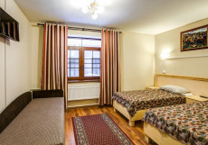 Отель 365 | СПБ | м. Обводный канал | Парковка Стандартный двухместный номер с 2 отдельными кроватями