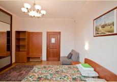 На Белорусской | м. Белорусская | Wi-Fi Бюджетный двухместный номер с общей ванной комнатой