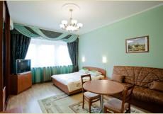 На Белорусской | м. Белорусская | Wi-Fi Двухместный номер с 2 отдельными кроватями и общей ванной комнатой