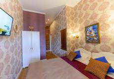 Art Nuvo Palace   СПБ   м. Василеостровская   Парковка Двухместный номер с 1 кроватью или 2 отдельными кроватями и балконом