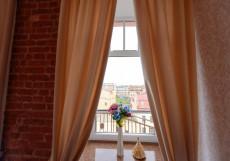 Art Nuvo Palace   СПБ   м. Василеостровская   Парковка  Улучшенный двухместный номер с 1 кроватью или 2 отдельными кроватями и террасой