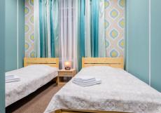 Финик | СПБ | м. Удельная | Wi-Fi Двухместный номер с 2 отдельными кроватями и душем