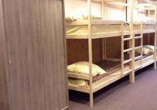 Хостел на Бауманской | м. Бауманская | Парковка Кровать в общем четырехместном номере для мужчин и женщин