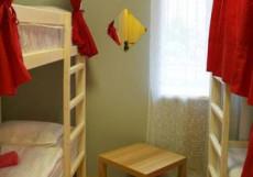 Сити | м. Баррикадная | Парковка Кровать в общем четырехместном номере для мужчин и женщин