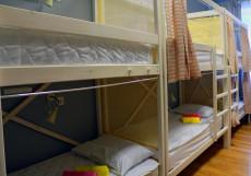 Сити | м. Баррикадная | Парковка  Спальное место на двухъярусной кровати в общем номере для мужчин и женщин
