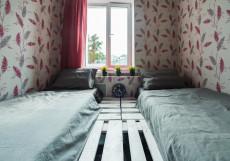 БРО Хостел | м. Красные ворота | Парковка Двухместный номер с 1 кроватью или 2 отдельными кроватями