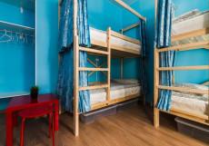 БРО Хостел | м. Красные ворота | Парковка  Спальное место на двухъярусной кровати в 4-местном общем номере для мужчин и женщин