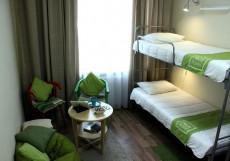 Nice hostel Krasnye Vorota  | м. Красные ворота Кровать в общем 6-местном номере для мужчин и женщин