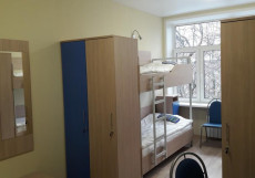 ОСТАНКИНО  ХОСТЕЛ (м. Петровско-Разумовская) Четырехместный номер эконом-класса с общей ванной комнатой