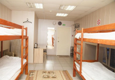 Gold 999 | м. Ленинский проспект | Парковка Односпальная кровать в общем номере с 10 кроватями