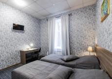 338 Отель  на Мира | СПБ | м. Горьковская | WI-Fi Двухместный номер с 2 отдельными кроватями и душем