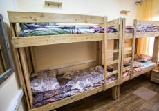 Олимп | м. Беговая | Парковка Спальное место на двухъярусной кровати в общем номере для мужчин