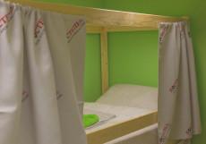 Рус - Автозаводская | м. Автозаводская | Парковка Спальное место на двухъярусной кровати в общем номере для мужчин