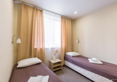 Myhotel24 Kristalin (САО, отель на Севере Москвы) Стандартный двухместный номер с 2 отдельными кроватями