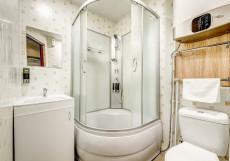 АКВАРЕЛЬ | на Щелковской Стандартный двухместный номер с 2 отдельными кроватями и собственной ванной комнатой