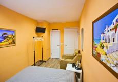 ГОРОДА - GORODA | м. Кантермировская Двухместный номер с 1 кроватью и собственной ванной комнатой