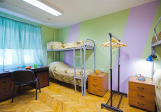 ГОРОДА - GORODA | м. Кантермировская  Кровать в общем 6-местном номере для женщин