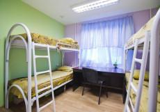 ГОРОДА - GORODA | м. Кантермировская  Кровать в общем четырехместном номере для мужчин