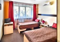СИТИ Отель | Новосибирск | Парковка Стандартный двухместный номер с 1 кроватью или 2 отдельными кроватями
