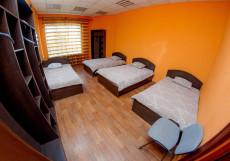 Мини Отель | Иркутск | Wi-Fi Четырехместный номер с общей ванной комнатой