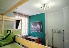 Nice hostel | г. Челябинск | Парковка Кровать в общем 6-местном номере для мужчин