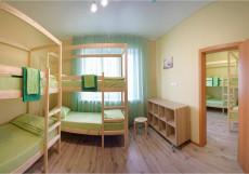 Nice hostel | г. Челябинск | Парковка Спальное место на двухъярусной кровати в общем номере для мужчин и женщин
