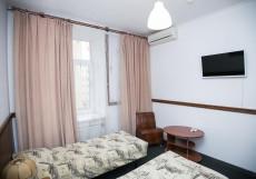 Красный Терем | м. Маяковская | Wi-Fi Улучшенный двухместный номер с 2 отдельными кроватями