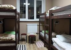 Hermes | м. Братиславская | Парковка Кровать в общем мужском или женском номере с общей ванной комнатой