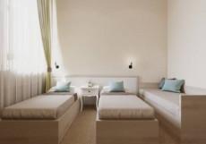Эпиграф | СПБ | м. Чернышевская | WI-FI Улучшенный двухместный номер с 1 кроватью или 2 отдельными кроватями
