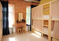 Найс хостел Комсомольская | м. Красносельская | Парковка Кровать в общем 8-местном номере (общий/мужской/женский)