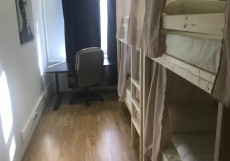 Найс хостел Комсомольская | м. Красносельская | Парковка Односпальная кровать в общем номере с 4 кроватями