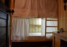 Русский хостел в Кузьминках | м. Кузьминки | Wi-Fi Кровать в общем номере с 6 кроватями (общая ванная комната)