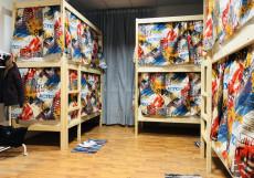 Hygge/Хиге | м. Дмитровская | Парковка Кровать в общем 10-местном номере для мужчин и женщин