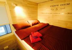 Viva la Vida | м. Марксистская | Парковка Двухместный номер эконом-класса с 1 кроватью